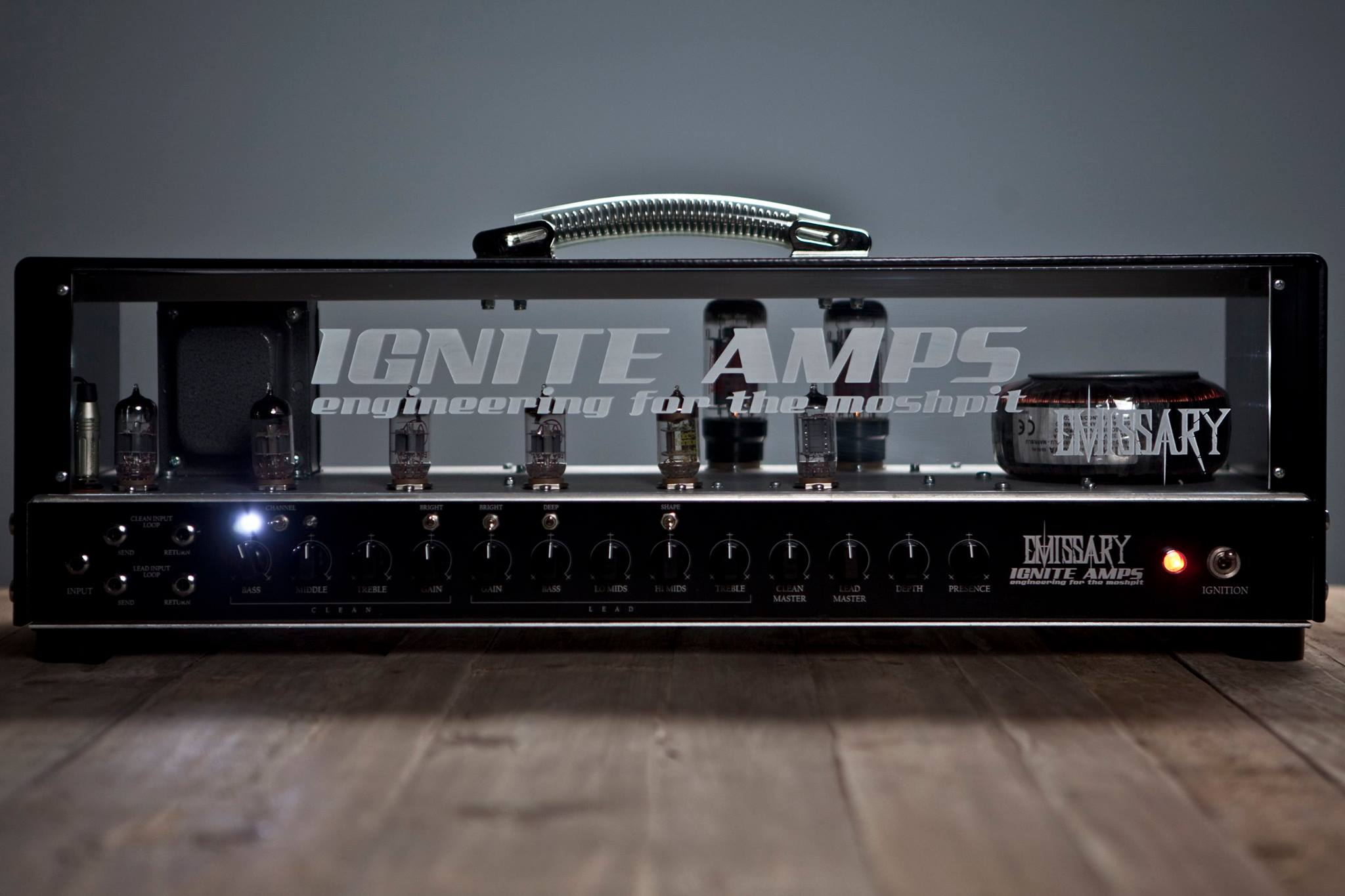 IGNITE AMPS - Engineering for the moshpit