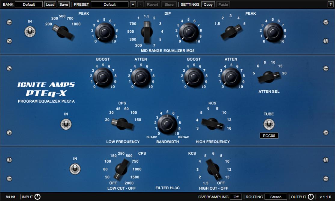 PTEq-X EQ plugin free